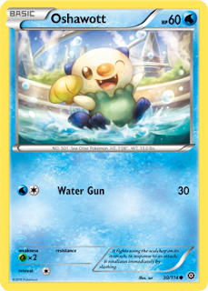 Oshawott Steam Siege Pokemon Card