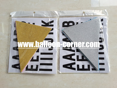 Bunting Flag Segitiga DIY / Banner Flag Segitiga DO IT YOURSELF
