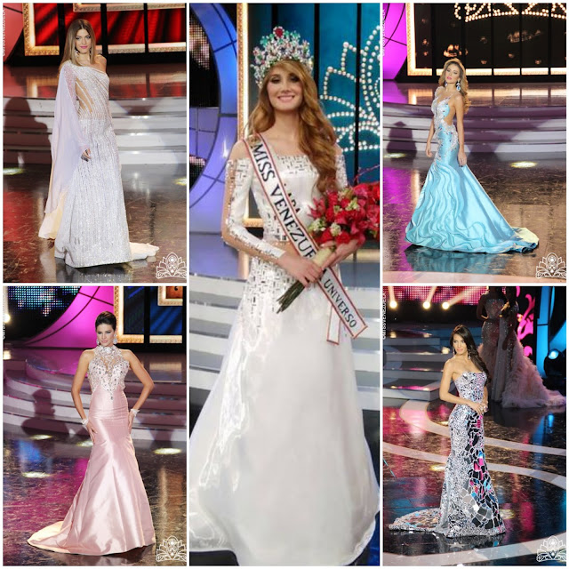 "SASHES AND TIARAS.....Miss Venezuela 2015 Finals: Evening Gown Recap--The Good, Sheer, ""Big Birds"" and Ayyy Mija!"