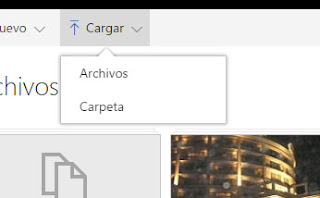 Como subir archivos o carpetas a OneDri