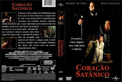 Filme Coração (Angel Heart) Satânico DVD Capa