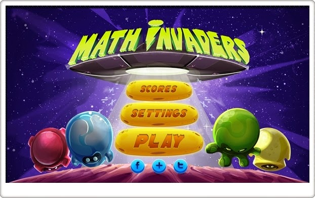 http://www.yubigames.com/Math_Invaders/index.html