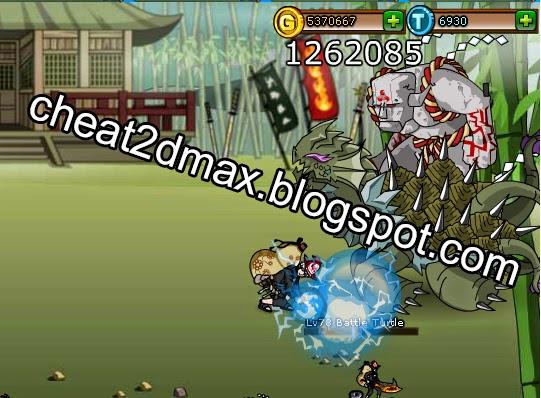 Ninja Saga Cheat New Damage Hack Updated 2016