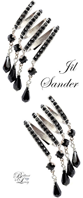Brilliant Luxury ♦ Jil Sander Earrings