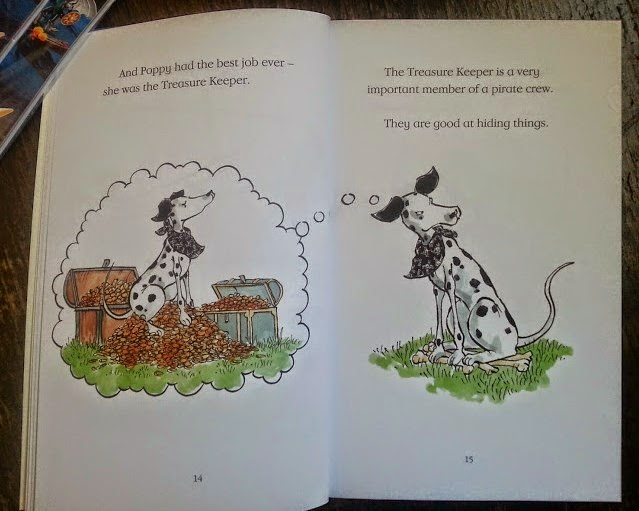Poppy The Pirate Dog And The Treasure Keeper - red band Early Reader from Orion Books age 5-8