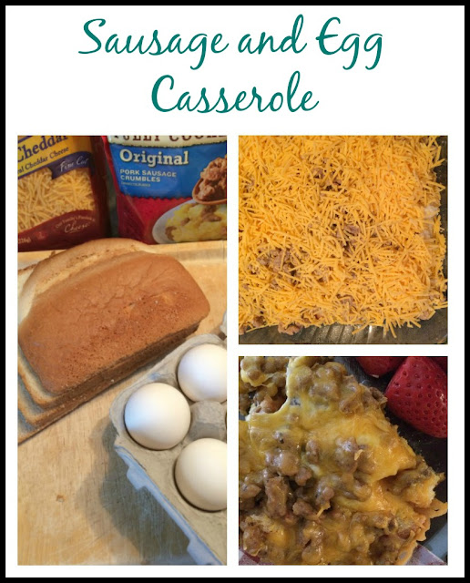 Sausage and Egg Breakfast casserole is the perfect breakfast or brunch dish