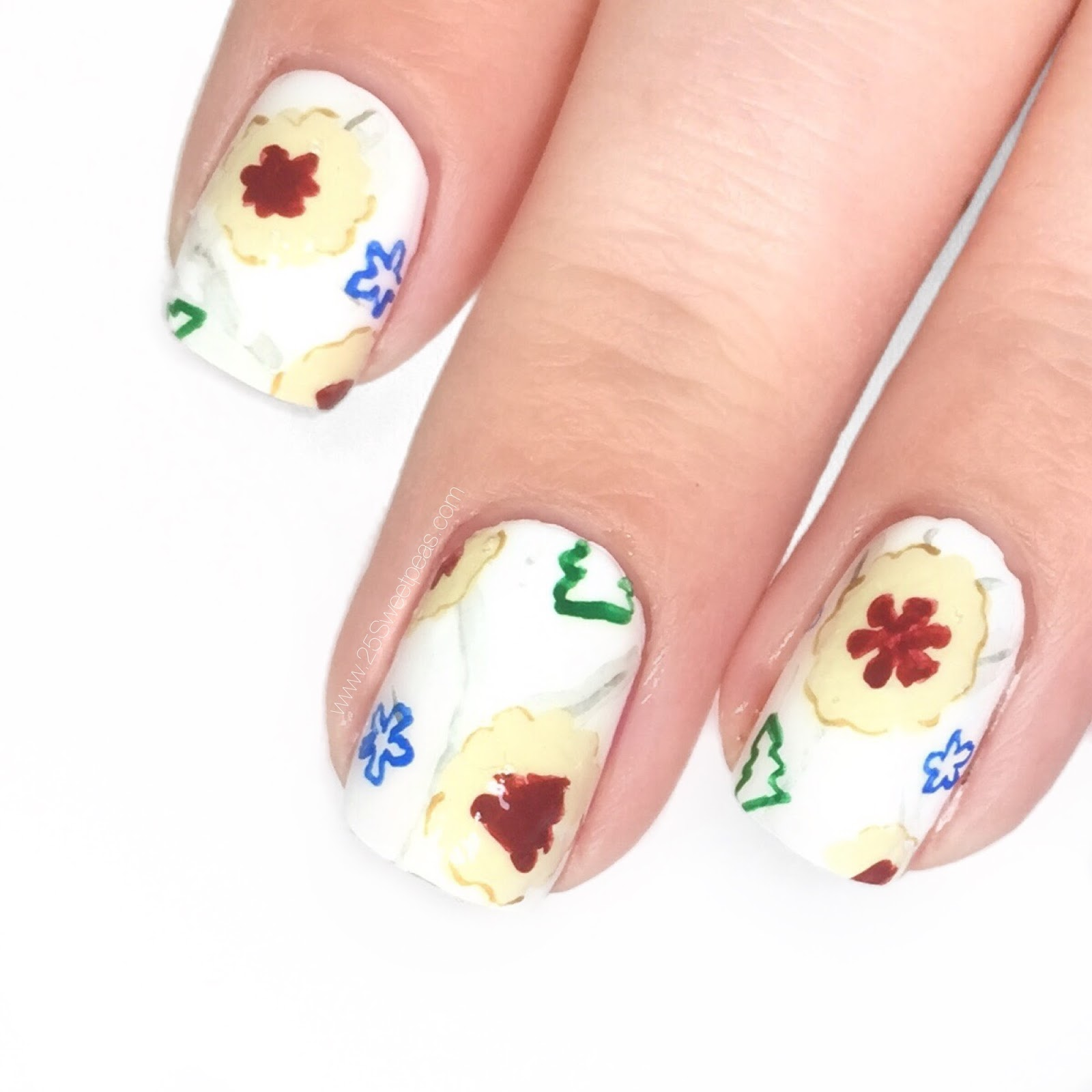 Cookie Nail Art