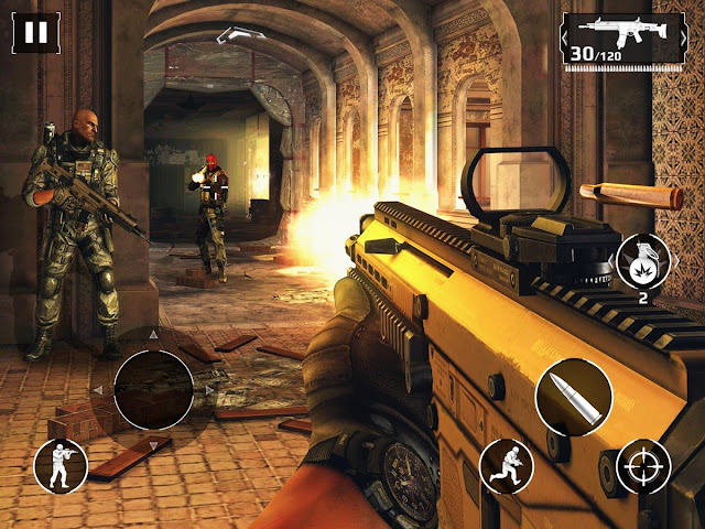 Download Modern Combat 5 Mod Apk God Mode Update Terbaru