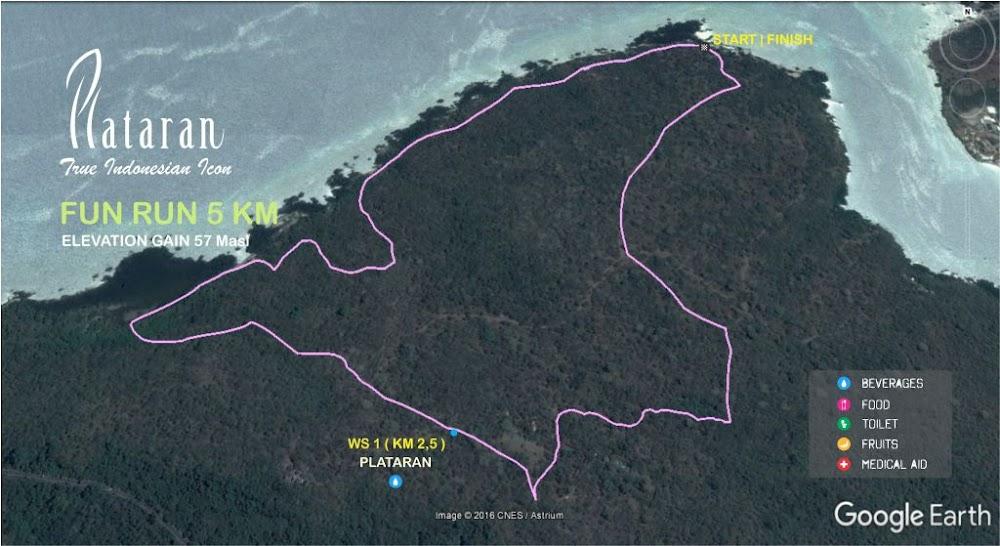 BNI Plataran X Trail • 2017 - Map 50K