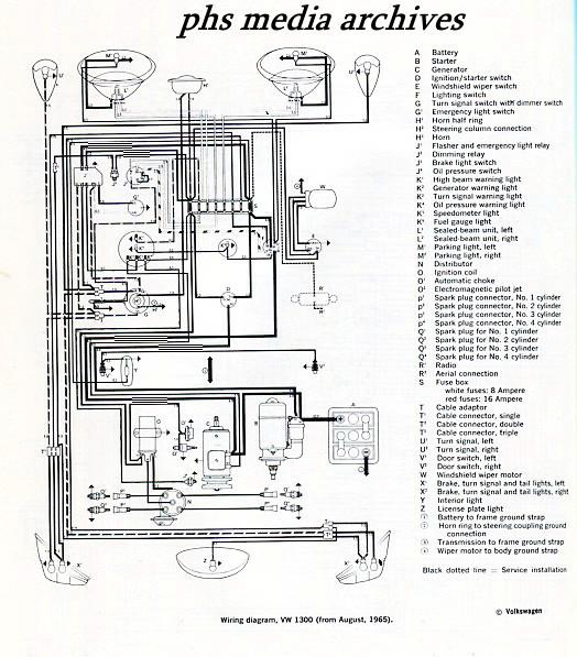 1974 vw beetle wiring diagram on wiring diagram for 1968 vw beetle