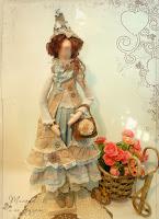 Бохо шик - текстильная кукла