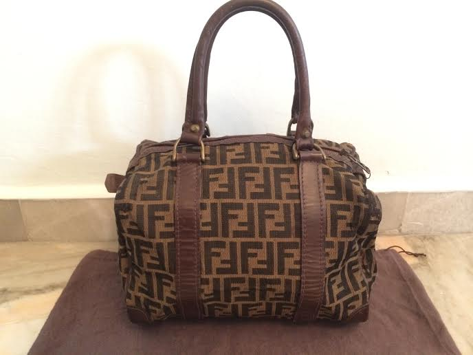 b101f8be44 Vintage Fendi Monogram Bag | Mount Mercy University
