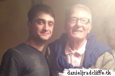 Google+: Backstage at The Cripple of Inishmaan with Peter Shaffer