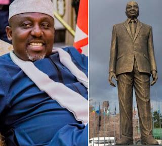 destroy zuma statue imo state