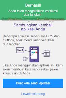 cara mengaktifkan verifikasi 2 langkah akun yahoo indonesia