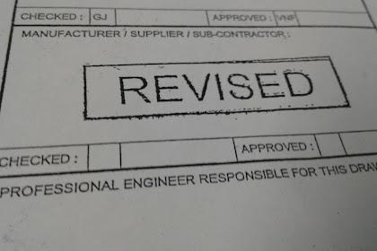Langkah surveyor Menghadapi Revisi drawing
