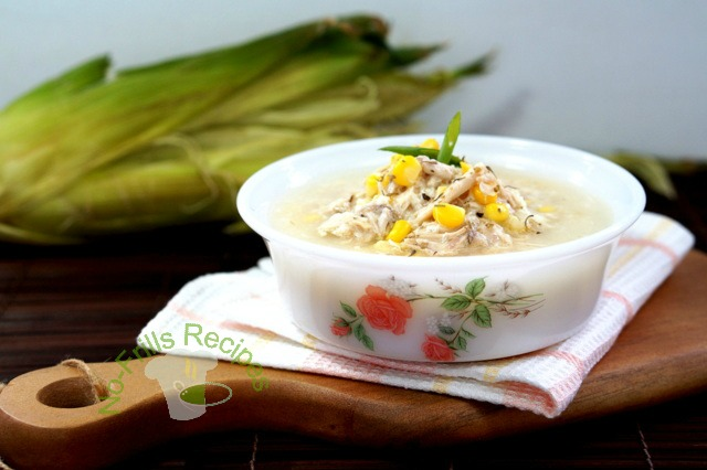 Asian corn recipe soup velvet