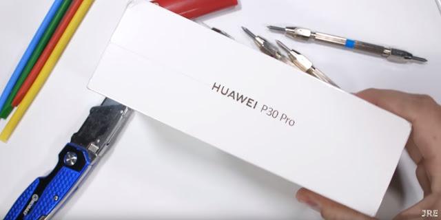huawei p30 pro jerryrigeverything