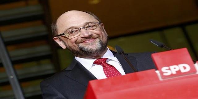 Το SPD ενέκρινε την υποψηφιότητα του Μάρτιν Σουλτς για την καγκελαρία