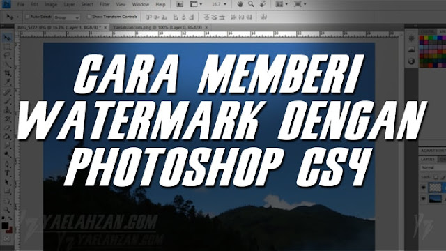Dengan Photoshop CS4