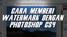 Cara Menambahkan Watermark dengan Photoshop CS4