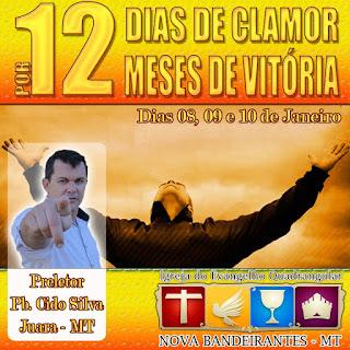 Pregador e conferencista Pb. Cido Silva