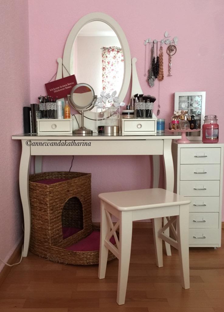 ikea hemnes schminktisch. Black Bedroom Furniture Sets. Home Design Ideas