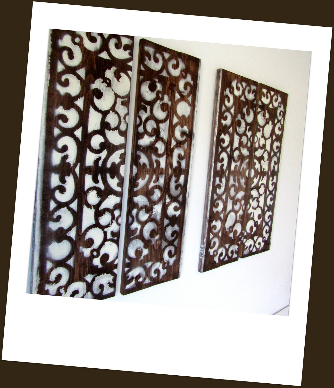 wood panel wall art check out november s issue at www myhouseandhome . - Wood Panel Wall Art €� Crafthubs