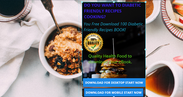Get Free 100 Diabetic Friendly Recipes