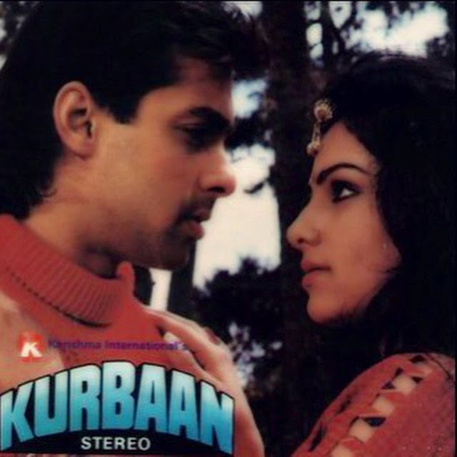 countdown continue... his next movie was kurbaan, again opposite debutant; ayesha jhulka.   salman khan ,  ayesha jhulka  ,  kurbaan , , Ayesha Jhulka Pics from Kurbaan, Jo Jeeta Wohi Sikandar, Khiladi