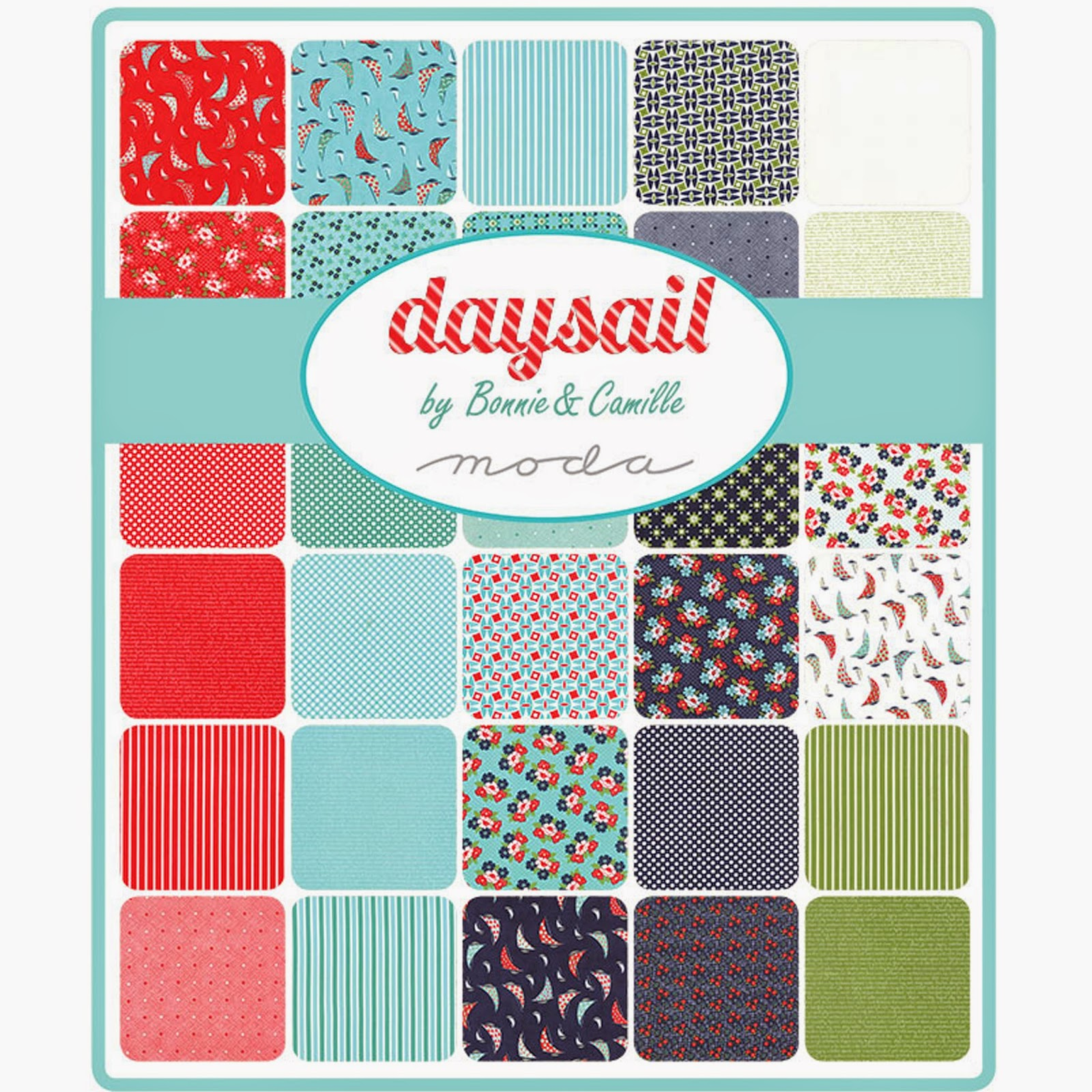 Moda DAYSAIL Fabric by Bonnie & Camille for Moda Fabrics