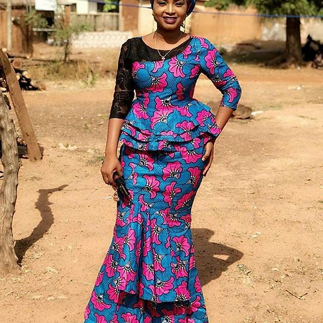 Absolutely Gorgeous Ankara Skirt And Blouse Styles For Classy Ladies Zaineey 39 S Blog