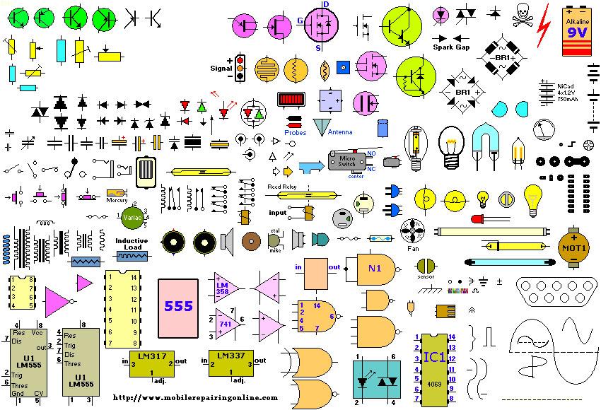 Schematic Diagram For Nokia Mobile