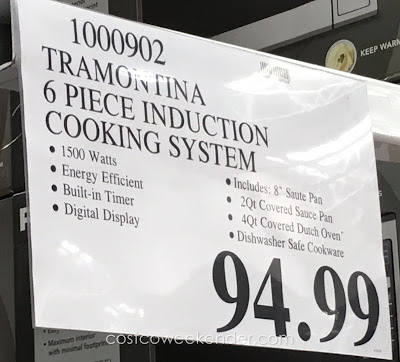 Deal for the Tramontina Induction Cooking System at Costco