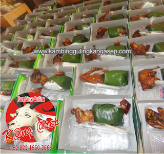 Nasi Box di Tangkuban Parahu Lembang Bandung