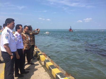 Hubla Bentuk Posko Penanggulangan Pencemaran Tumpahan Minyak Di Pelabuhan Semayang