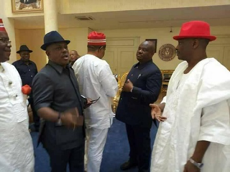 Kwankwaso Hold Secret Meeting With Wike, Secondus