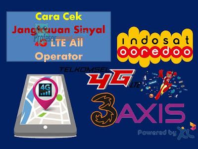 Cara Cek Jangkauan Sinyal 4G LTE  All GSM