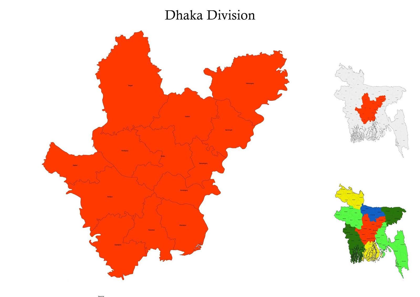 bangladesh map dhaka division Dhaka Division Bangladesh Map Information Localgoogle bangladesh map dhaka division