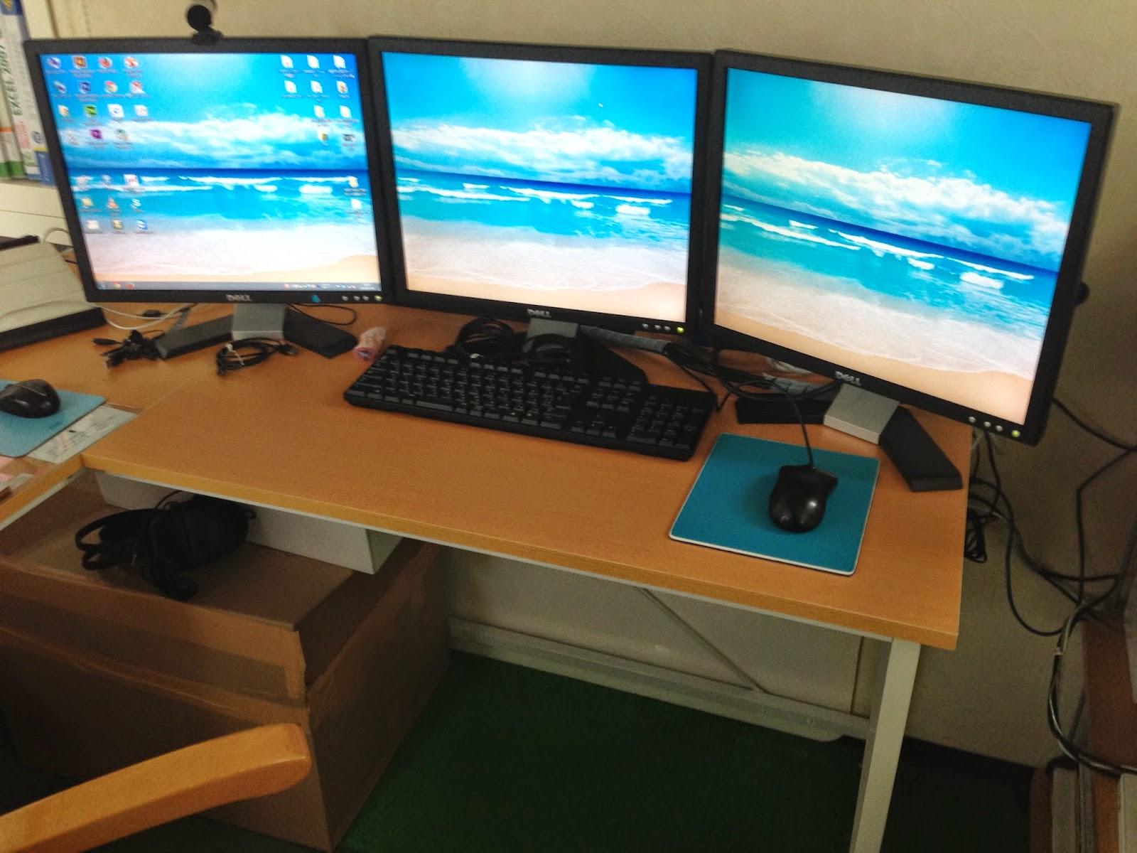 パソコンスクール 教室 ハーツのブログ マルチディスプレイ
