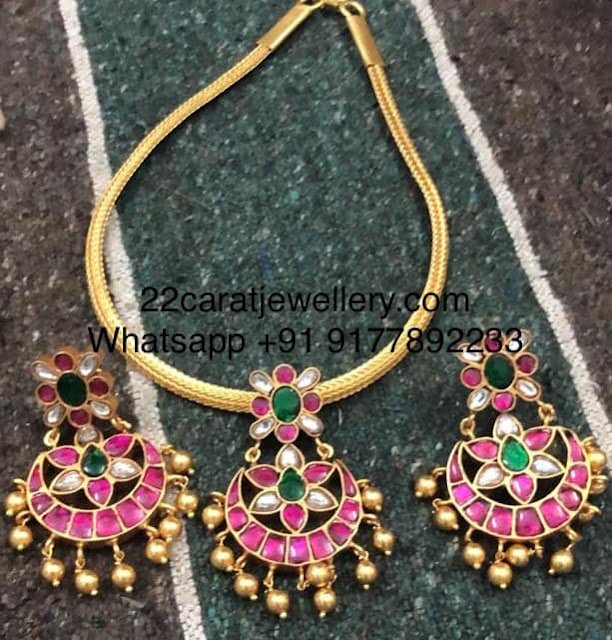 2 in 1 Kundan Choker in 925 Silver