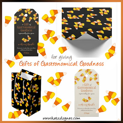 Gifts of Gastronomical Goodness food gift giving tags and bags