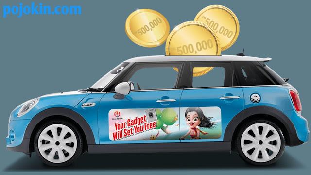 Cara Mendapatkan Uang dari Mobil/Motor Pribadi dengan Memasang Stiker Iklan