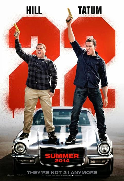 Poster oficial pentru comedia 22 Jump Street