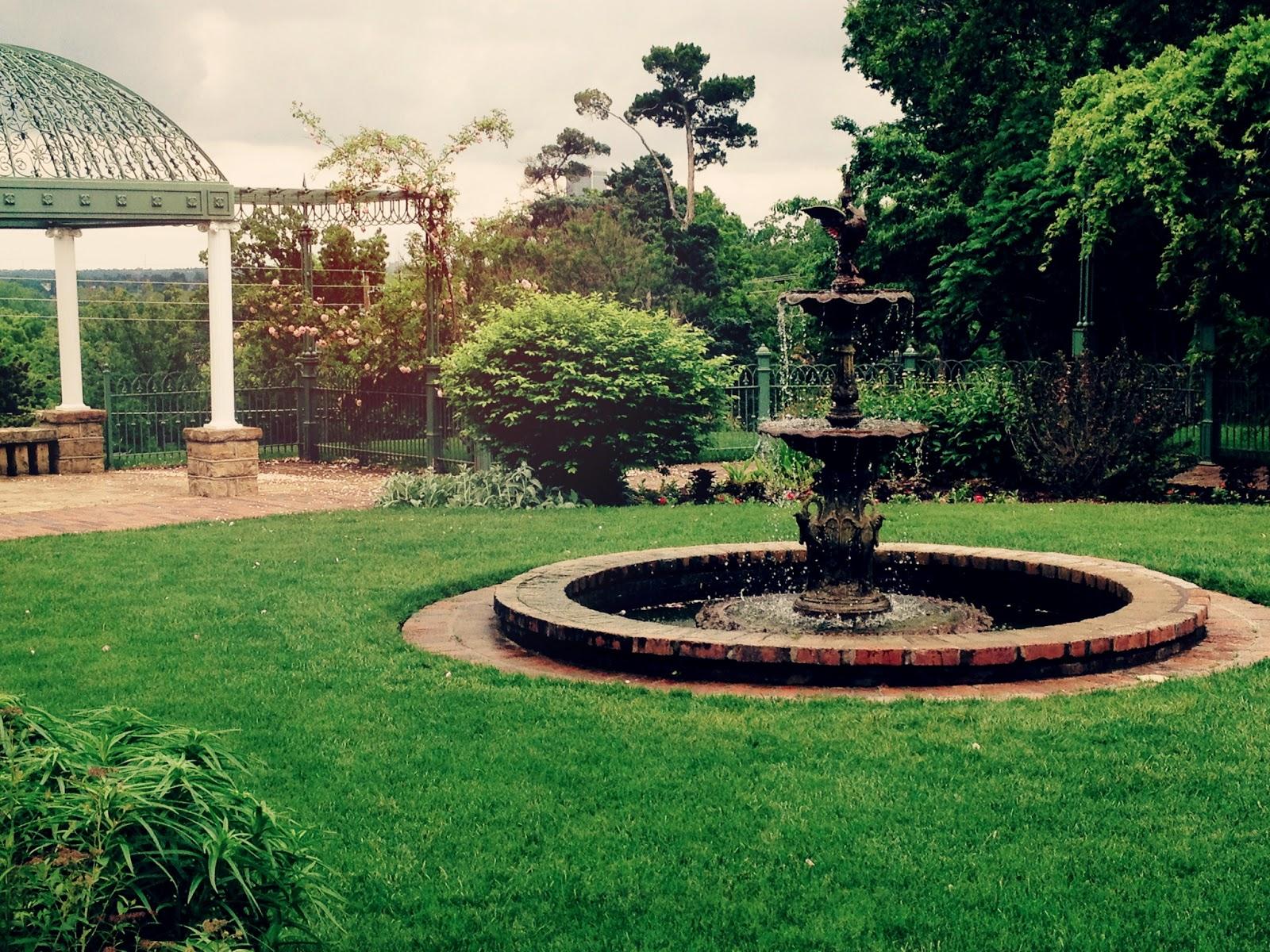 My Gilcrease Daytrip The Victorian Garden