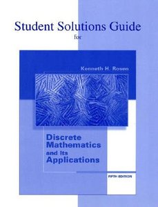 Discrete Mathematics And Its Application 7th Edition Solution