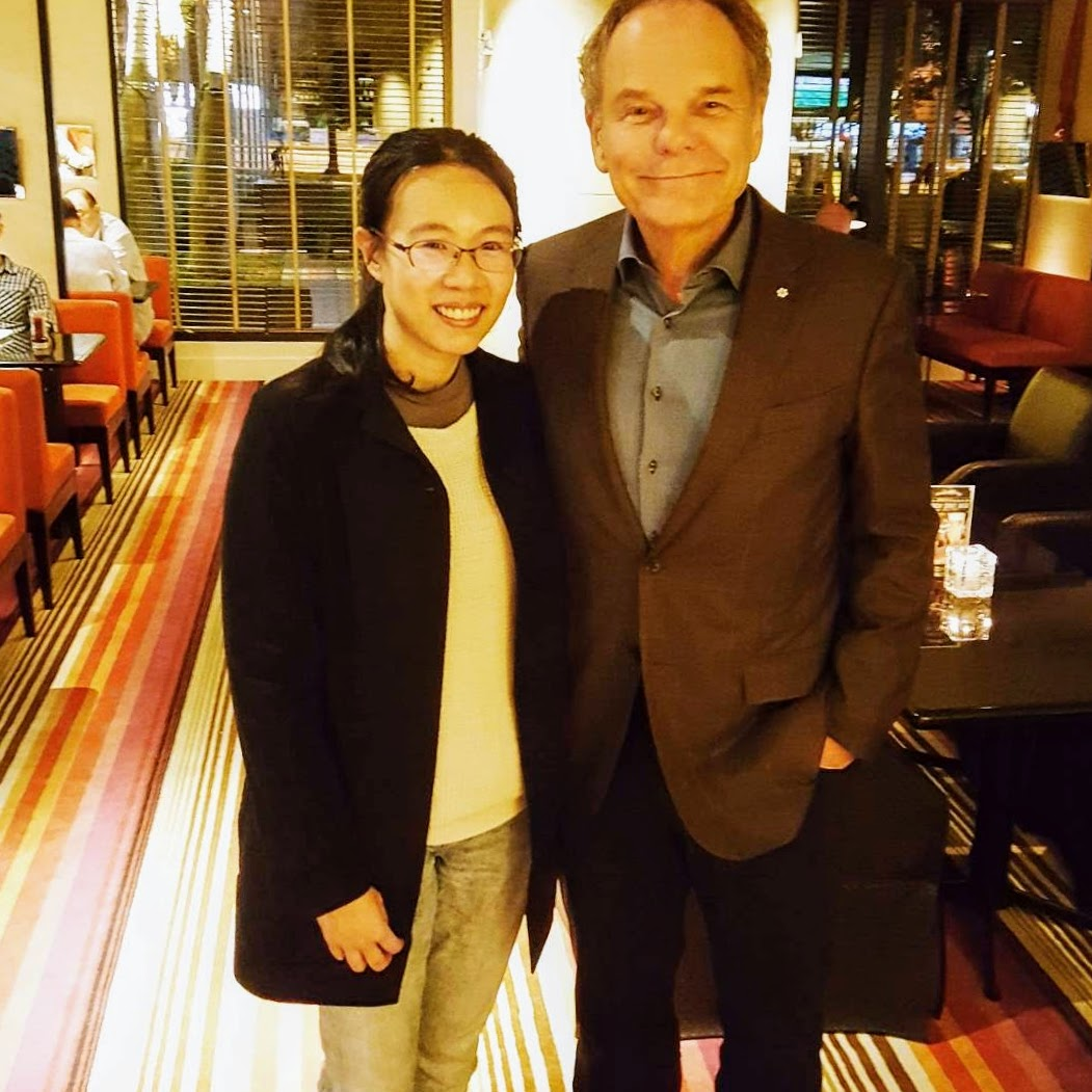 Don Tapscott and me