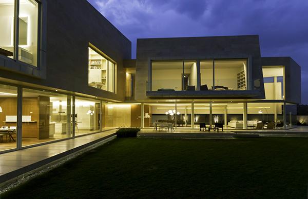 Diseno de casa en forma de l dise o de casas home house - Fotos de casas en forma de l ...