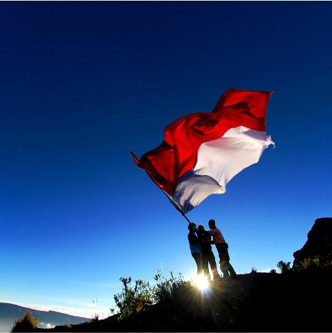 99 Gambar Orang Membawa Bendera Merah Putih Kartun Terbaru Cikimm Com