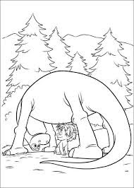 Adorable Diplodocus Dinosaur Coloring Pages